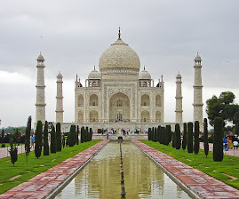 The Taj Mahal (India)