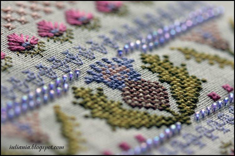 Чертополох схема для вышивки крестом