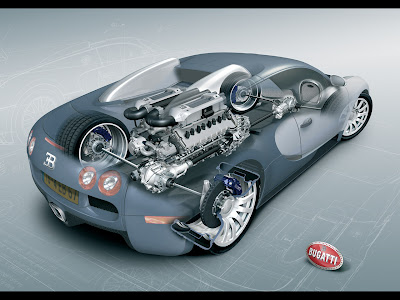 Bugatti Veyron machine
