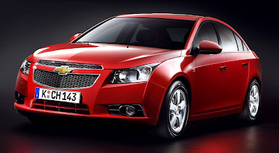 chevrolet cruze red 2010