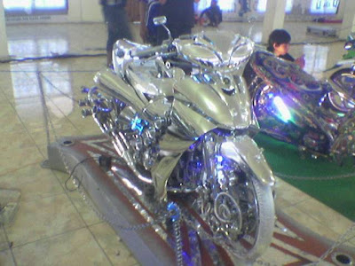Yamaha Jupiter 2005 - Full Chrome Modification