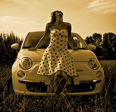 Fashion  Girls on 5ooblog   Fiat 5oo  New Fiat 500  60s Fashion