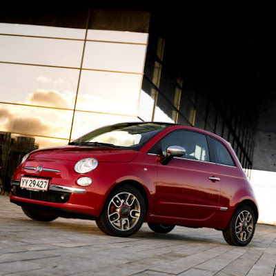 Fiat 500 Interior Red. New Fiat 500 - quot;Dolce Vitaquot;