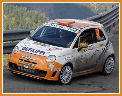 New Abarth 500 R3t Rally De France Car Designs