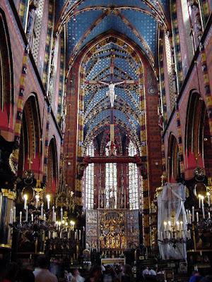 Cracovia, Mariacka, catedrais medievais