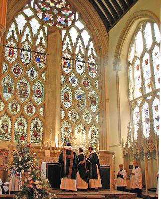 Missa na abadia de Dorchester, 2008