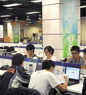 Centro de prensa Olimpiadas, Pequim. Pesadelo chinês