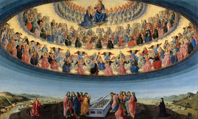 Assunção de Nossa Senhora, (Francesco Botticini) Luzes de Esperança