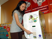 Distribuidor de preservativos, Elza Fiúza-ABr