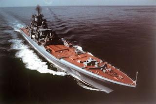 Classe Kirov inclui cruzador nuclear Pedro o Grande