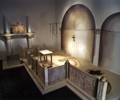 Reconstrução de Igreja, estilo bizantino, primeiros séculos da Igreja