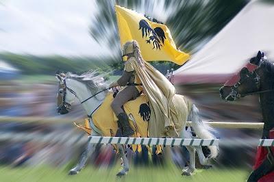 Cavaleiro medieval, torneio Warwick