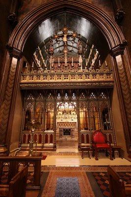 St Giles, Cheadle, arquitectura de Augustus Welby Pugin