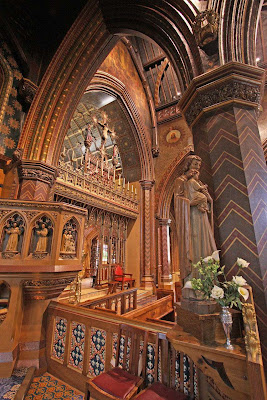 St Giles, Cheadle, arquitectura de Pugin ©Fr Lawrence OP