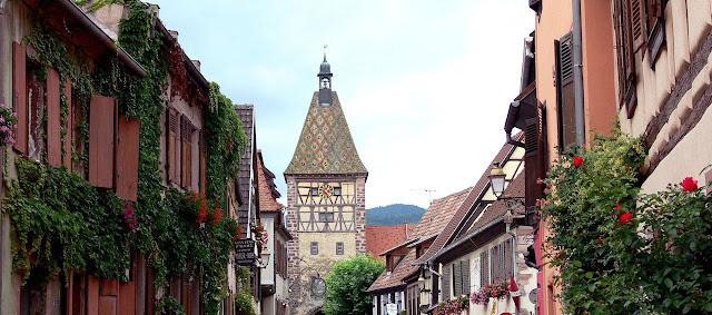 Bergheim, Alsacia, França