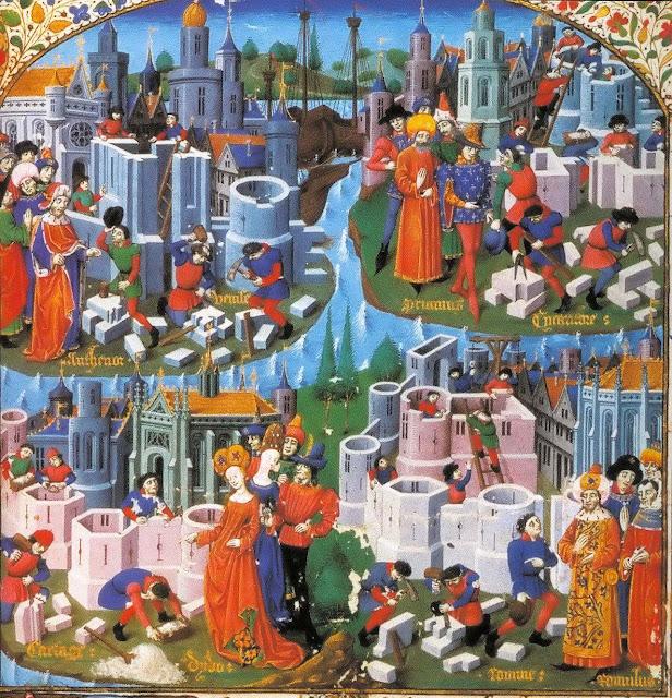 A cidade medieval ideal
