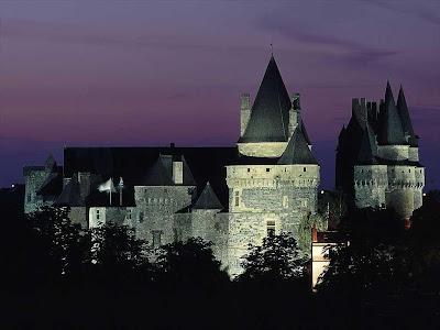 Castelo de Vitré, Bretanha, França