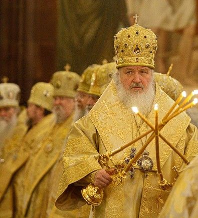 Kirill. agente da KGB, eleito patriarca cismático de Moscou