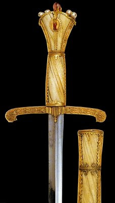 Espada de Carlos o Temerário, Schatzkammer, Palácio imperial de Viena