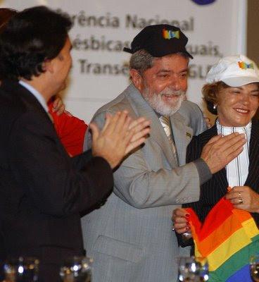 Presidente Lula, ministro de Saúde Temporão, 1ª Conferência Nacional de GLBT, Fabio Rodrigues Pozzebom-ABr.