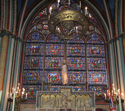 Notre Dame, capela Santissimo Sacramento