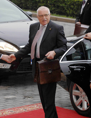 Vaclav Klaus, presidente da República Checa