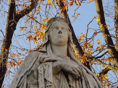 Santa Clotilde, jardim do Luxembourg, Paris
