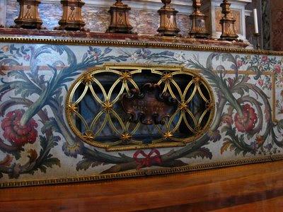 São Gregório Magno, túmulo em São Pedro, Vaticano