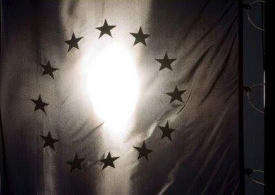 Bandeira UE, Sofia, Bulgária