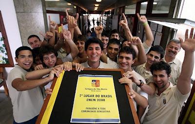2008, São Bento ganha ENEM por segunda vez