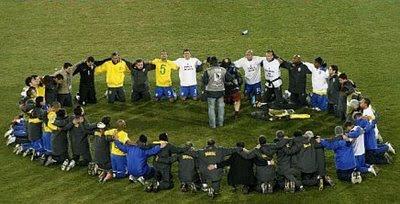 Brasil reza na vitória pela Copa Confederações