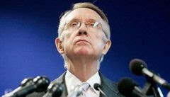 Senador Harry Reid, lder da maioria democrata no Senado: