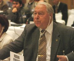 Yuri A. Izrael, vice-presidente do IPCC: