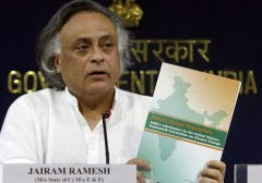 Jairam Ramesh, ministro do Meio Ambiente da ndia: