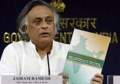 Jairam Ramesh, ministro do Meio Ambiente da Índia: