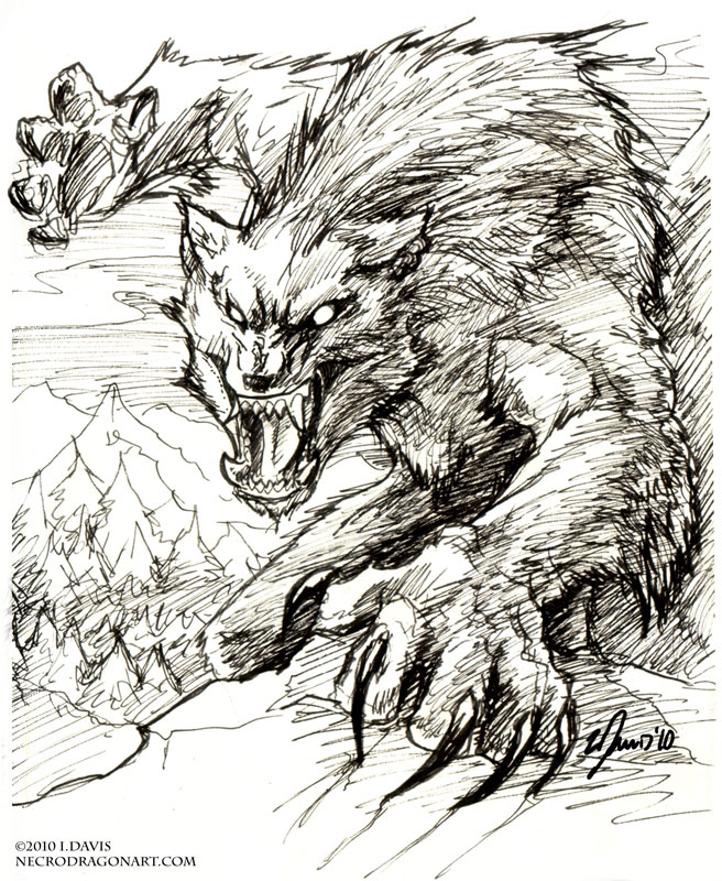 The wolf den: Werewolf...