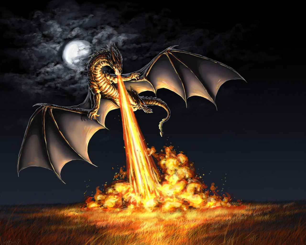 a dragons lair images gallery dragon devastating fire