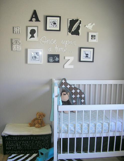 Design baby room gazee for Black and white baby room decor
