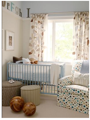 Home sweet home gender neutral modern baby rooms - Baby nursery neutral colors ...