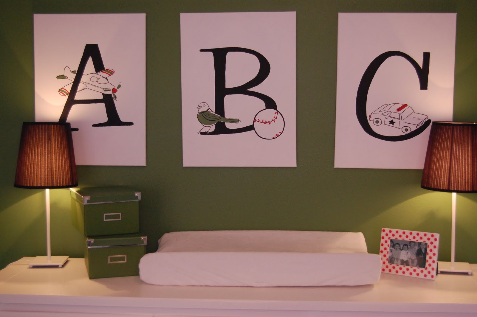 Made with love modern boys nursery design dazzle for How to paint a wall yourself