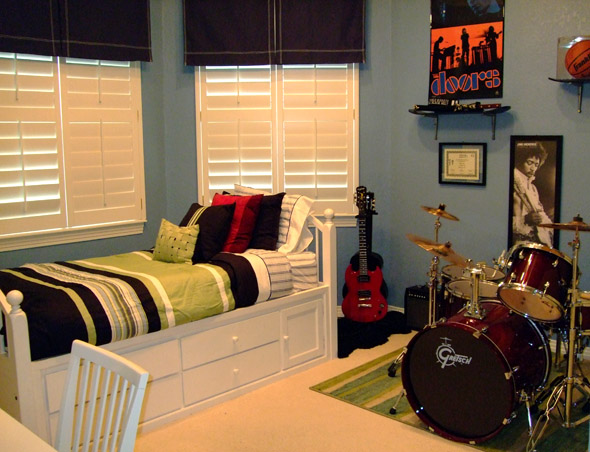 Tween Music Themed Rooms - Design Dazzle