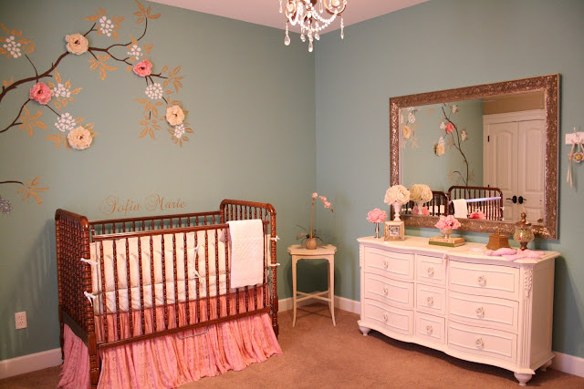 Falling For Baby Vintage Inspired Big Girl Room