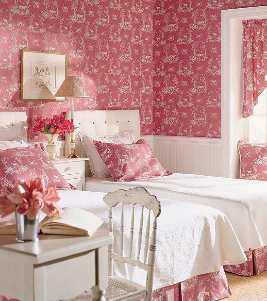 Every girls dream……the chocolate & pink room yummmmm…