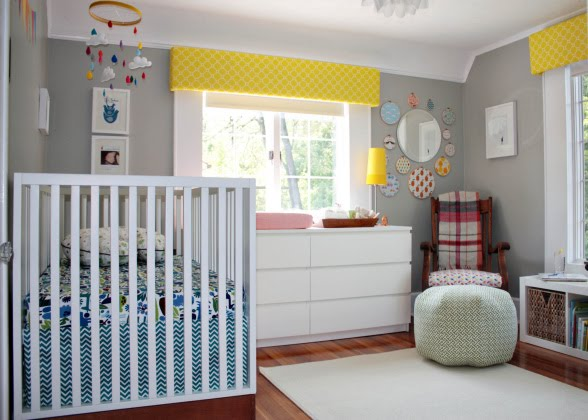 Diary lifestyles gender neutral baby nurseries - Baby nursery neutral colors ...