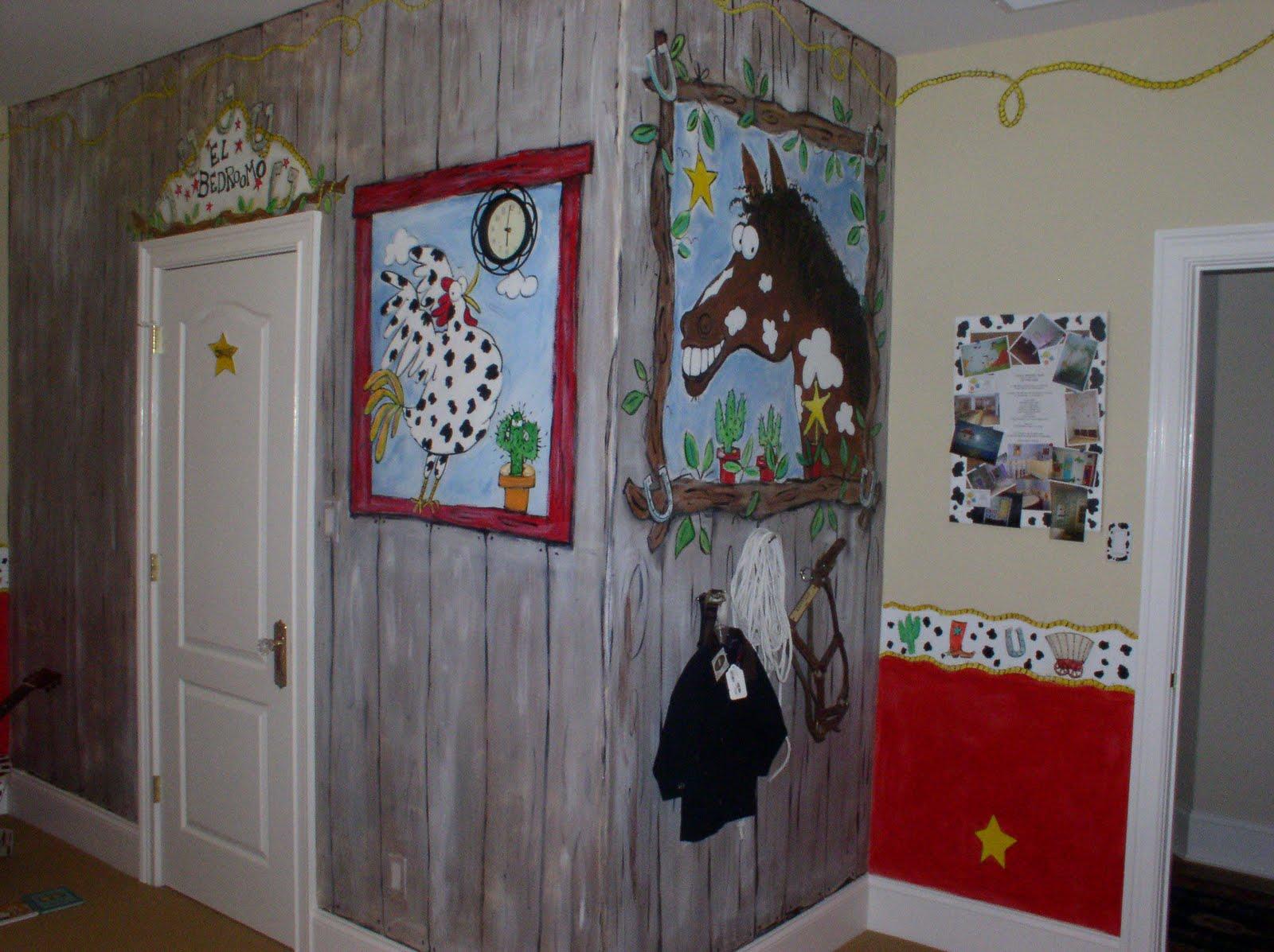 First Wallpaper Border: cowboy wallpaper border