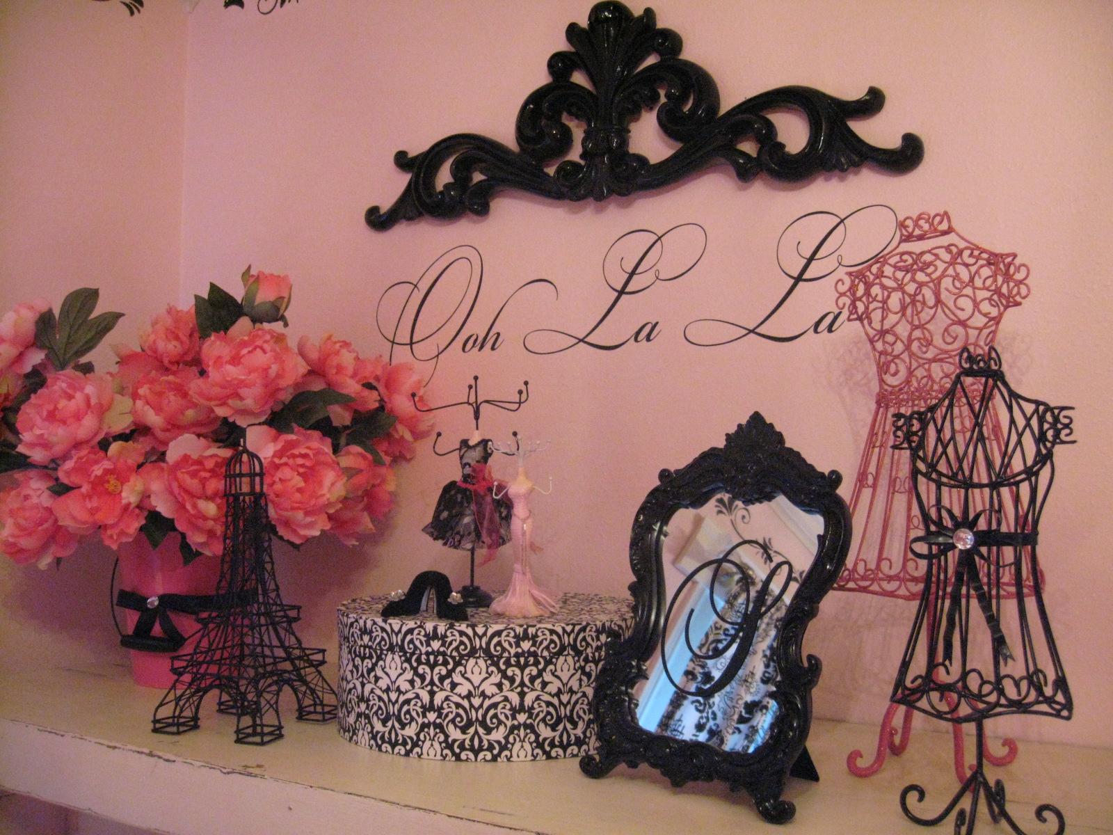 Paris Decor For Bedroom Vintage Barbie Parisian Room Design Dazzle