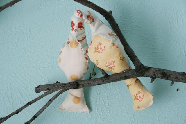 Baby nursery the littlest birds sing the prettiest songs for Bird nursery fabric