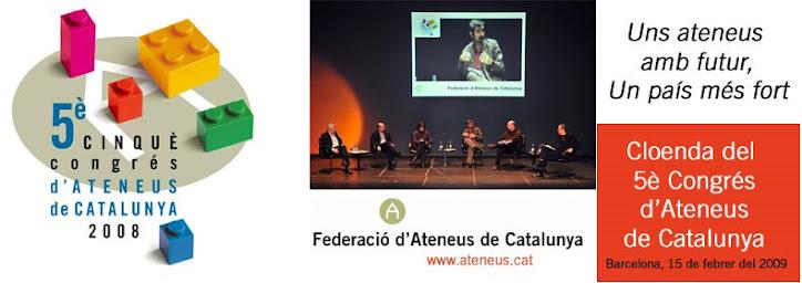 El Bloc del 5è Congrés d'Ateneus de Catalunya