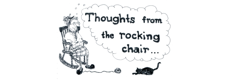 thoughts from the rocking chair - granny funk crochet