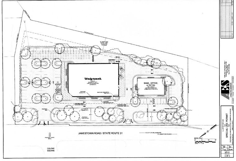Proposed Walgreens Site Plan